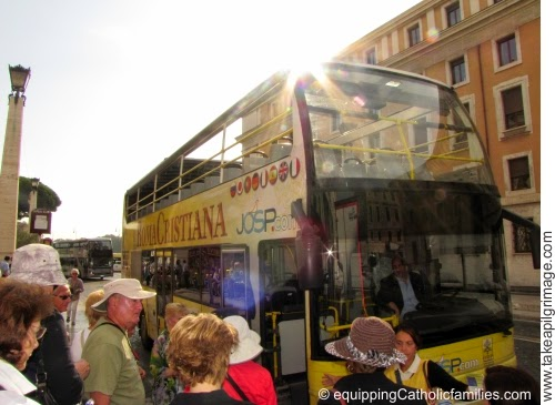 http://www.equippingcatholicfamilies.com/2014/10/happened-double-decker-bus-rome.html