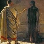 Quod Est Veritas? Christ and Pilate, by Nikolai Ge.