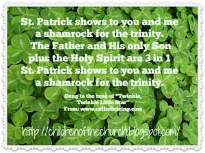 st patrick song
