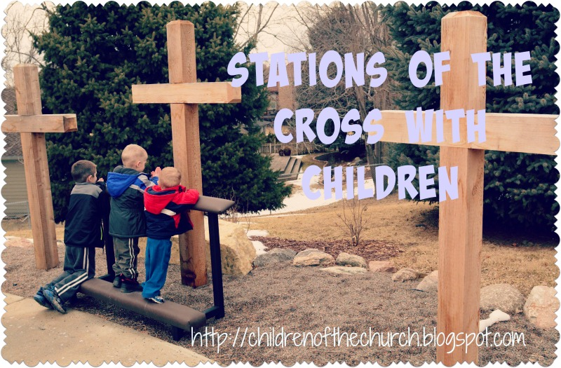 stations of the cross with children2