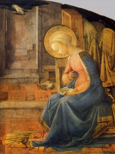 Annunciation Fra Filippo Lippi Beautiful Dove