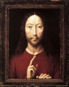 Christ Giving His Blessing Memling