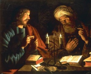 Christ and Nicodemus Cijn Hendricks