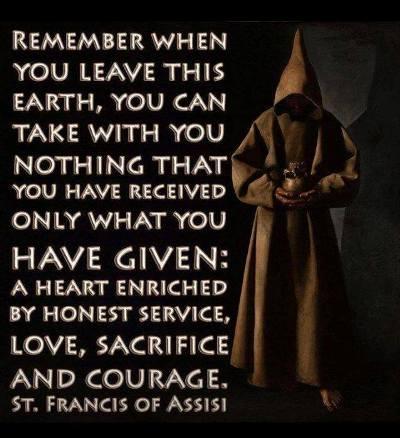 Saint Francis Assisi Quotes