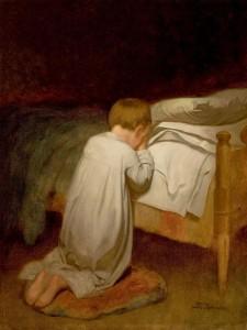 450px-Eastman_Johnson,_Child_at_Prayer,_circa_1873