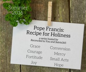 Pope Francis_Recipe for Holiness