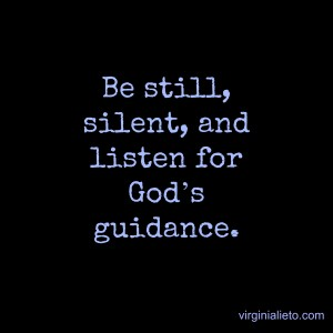 Silence and Know God