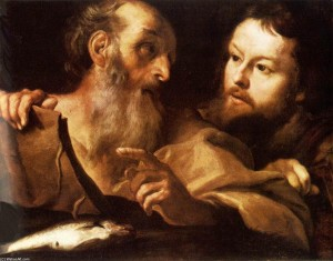 Gian Lorenzo Bernini Saint Andrew and Saint Thomas