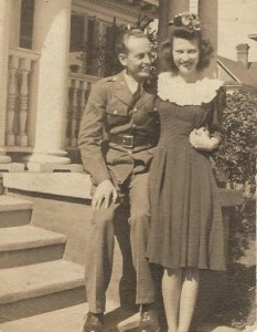 Dad and Mom 1942